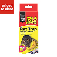 The Big Cheese Baited Rat trap