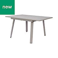 Wolin Metal 8 seater Extendable Table