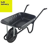 Walsall Endurance Heavy Duty Black 85L Wheelbarrow