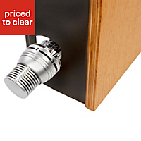 Jaga Knockonwood Horizontal Wooden cased radiator Beech veneer (H)300 mm (W)600 mm