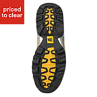 JCB Workmax Honey Safety boots, Size 10