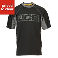 JCB Trentham Black T-shirt Small
