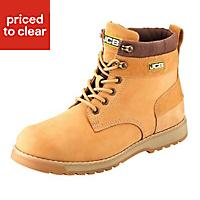 JCB5CXHoneySafety boots, Size 10