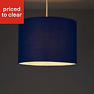 Colours Fairbank Navy Plain Light shade (D)280mm