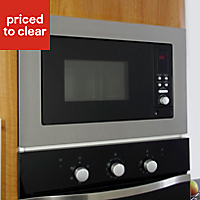 Cooke & Lewis CLBM1SS-C 800W Built-in Microwave