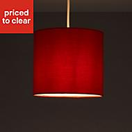 Colours Haymarket Strawberry Light shade (D)200mm