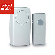 Blyss White Wireless Plug in Door chime DC5-UK-WH