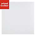 B&Q White Marble effect Self adhesive Vinyl tile, 1.02m² Pack