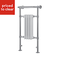 Blyss Traditional 266W Towel warmer (H)952mm (W)479mm