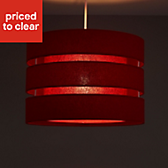 Colours Trio Strawberry 3 tier Light shade (D)350mm