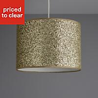 Colours Cirocha Glitter Gold effect Light shade (D)280mm