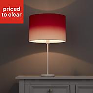 Colours Correze Red gradient Light shade (D)300mm