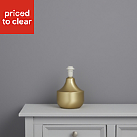 Medes Brushed Brass effect Halogen Table lamp base