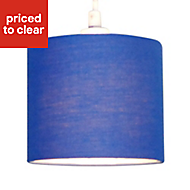 Colours Briony Navy blue Light shade (D)150mm