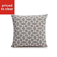 Edeva Grey Diamond Cushion