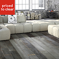 Colours Soren Burnt oak Oak Solid wood flooring, 1.48m² Pack