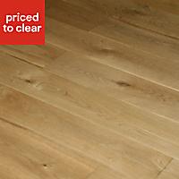 Colours Rondo Natural Oak Solid wood flooring, 1.08m²