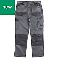 "Site Jackal Grey/Black Men's Trousers, W30"" L34"""