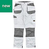 "Site Jackal White/Grey Men's Trousers, W36"" L32"""
