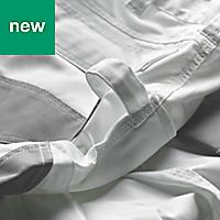 "Site Jackal White/Grey Men's Trousers, W38"" L32"""