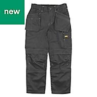 "Site Fox Black Men's Trousers, W40"" L32"""