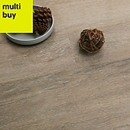 Colours Dolce Grey Laminate flooring, 1.19m² Pack