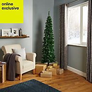 6ft 6in Slim spruce pine Artificial Christmas tree