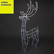 Standing reindeer Silhouette