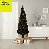5ft Crystal tip Fibre optic christmas tree