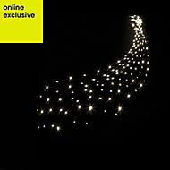 400 Warm white LED Waterfall Net light