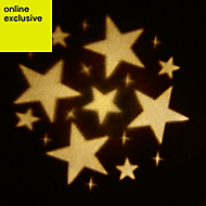 Outdoor Christmas Stars Warm white LED Christmas projector