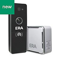 ERA Black Smart Home Wi-Fi IP Doorbell Camera