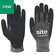 Site Nitrile Specialist handling gloves, Large