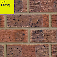 Mixed Facing brick (L)215mm (W)102.5mm (H)65mm, Pack of 390
