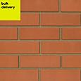 Red Engineering brick (H)73mm (W)102.5mm (L)215mm