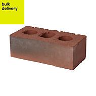 ITWB Multicolour Clay Facing brick (H)73mm (W)102.5mm (L)215mm 2500g