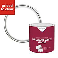 Valspar Pure brilliant white Gloss Paint 2.5L