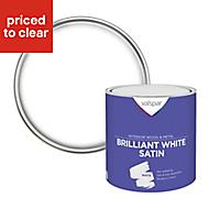 Valspar Pure brilliant white Satin Paint 2.5L