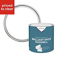 Valspar Pure brilliant white Eggshell Paint 2.5L