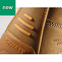 DeWalt Apprentice Men's Wheat Safety boots, Size 6