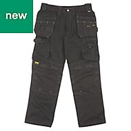 "DeWalt Pro Tradesman Black Men's Trousers, W40"" L31"""
