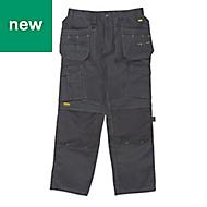"DeWalt Pro Tradesman Black Men's Trousers, W42"" L31"""