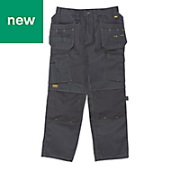 "DeWalt Pro Tradesman Black Men's Trousers, W42"" L33"""