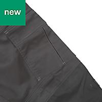 "DeWalt Thurlston Pro Stretch Black Men's Trousers, W36"" L31"""