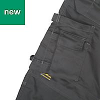 "DeWalt Thurlston Pro Stretch Black Men's Trousers, W38"" L31"""