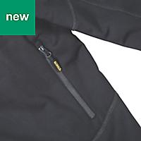 DeWalt Barton 3-Layer Tech Black Water-resistant Men's Jacket, Medium