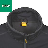 DeWalt Barton 3-Layer Tech Black Water-resistant Men's Jacket, Large