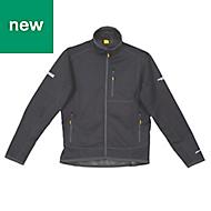 DeWalt Barton 3-Layer Tech Black Water-resistant Men's Jacket, XX Large