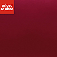 Chartwell Claret Single Fitted sheet