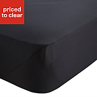 Chartwell Black King Fitted sheet